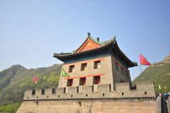 Great Wall of China, historical building Royalty Free Stock Photos