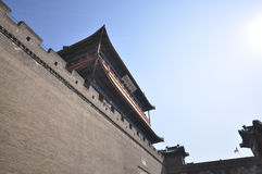 Great Wall of China, historical fort in China Royalty Free Stock Photos