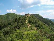 Great Wall of China. Huang Hua Cheng royalty free stock photography