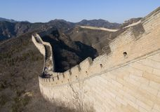 The Great Wall of China III stock images