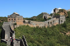 The Great Wall of China Jinshanling Stock Images