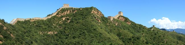 The Great Wall of China Jinshanling Stock Photography