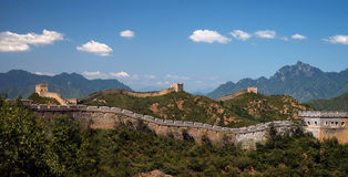 Great Wall of China - Jinshanling near Beijing. The Great Wall of China - a remote section of the wall at Jinshanling, about 60 miles northeast of Beijing