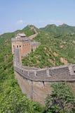 Great wall of China - JinShanLing neat Beijing, China Royalty Free Stock Image