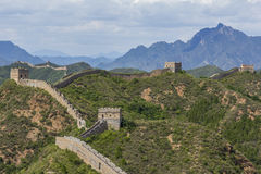 Great Wall of China JinShanLing Stock Photography