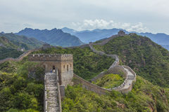 Great Wall of China JinShanLing Royalty Free Stock Photo