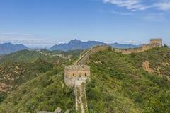 Great Wall of China JinShanLing Royalty Free Stock Photography