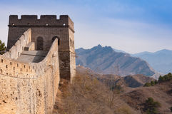 Great wall of china in jinshanling Royalty Free Stock Images