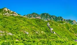 The Great Wall of China at Juyongguan - Beijing Royalty Free Stock Image
