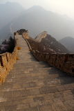 Great Wall of China. Great landscape of the great wall Stock Photo