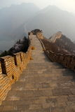 Great Wall of China. Great landscape of the great wall Stock Image