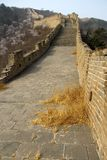 Great Wall of China. The lone wall of china not a sole to be seen Stock Photos