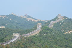 Great Wall of China. The most famous traditional architecture in China Stock Image