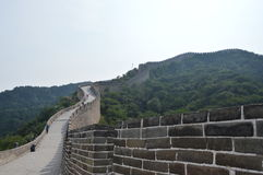 Great Wall of China. The most famous traditional architecture in China Royalty Free Stock Photos