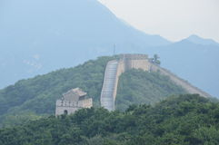 Great Wall of China. The most famous traditional architecture in China Stock Photography