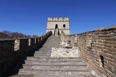 Great wall of china mutianyu. The great wall near beijing mutianyu Royalty Free Stock Photography