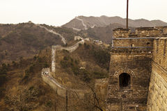 Great Wall of China at Mutianyu Royalty Free Stock Images
