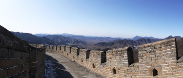 Great wall of china mutianyu china Stock Image