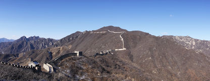 Great wall of china mutianyu china Royalty Free Stock Photos