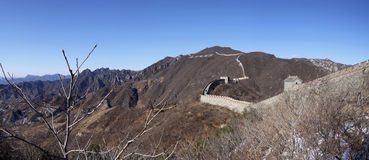 Great wall of china mutianyu china. This is the great wall of china close to beijing royalty free stock photos