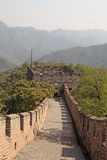 Great Wall of China. Mutianyu. Royalty Free Stock Photos