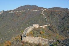 Great Wall of China. Mutianyu Stock Image
