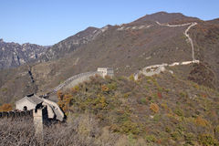 Great Wall of China. Mutianyu. Stock Photos