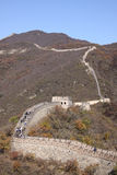 Great Wall of China. Mutianyu. Royalty Free Stock Image