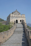 Great Wall of China. Mutianyu. Royalty Free Stock Photo