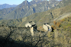 Great Wall of China. Mutianyu. Stock Image
