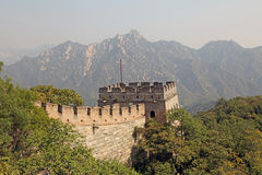 Great Wall of China. Mutianyu. Royalty Free Stock Images