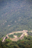 Great Wall of China at Mutianyu Royalty Free Stock Photos