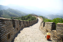 Great Wall of China at Mutianyu Royalty Free Stock Photo