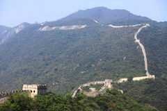 Great Wall of China at Mutianyu Royalty Free Stock Image