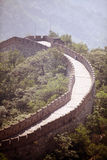 Great Wall of China at Mutianyu Royalty Free Stock Photography