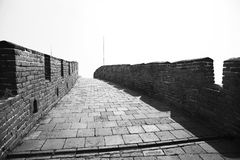 Great Wall of China at Mutianyu Stock Image