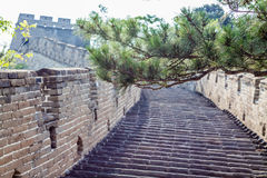 The Great Wall of China at Mutianyu, near Beijing, China Stock Photography
