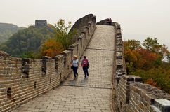 Great Wall of China, Mutianyu Royalty Free Stock Photography