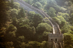 The Great Wall of China at Mutianyu. Stock Image