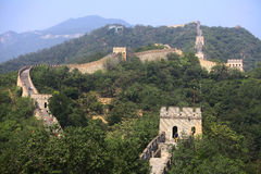 The Great Wall of China at Mutianyu. Stock Images