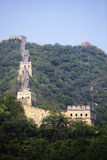 The Great Wall of China at Mutianyu. Stock Photography
