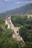 The Great Wall of China at Mutianyu. Stock Photos