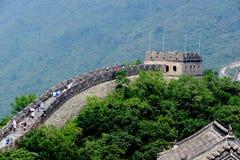 Great Wall of China at Mutianyu, Beijing, China royalty free stock image
