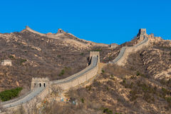 Great Wall of China. The Great Wall near Beijing Stock Images