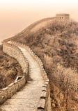 Great wall of China near Beijing Royalty Free Stock Photos