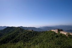 The Great Wall of China. A nice view on The Great Wall of China Royalty Free Stock Photography