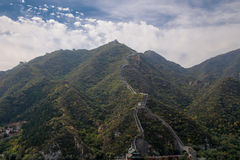 Great Wall of China, north of Beijing royalty free stock images