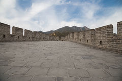 Great Wall of China, north of Beijing Stock Photos