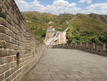 Great Wall of China, north of Beijing Royalty Free Stock Image