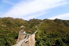 Great Wall of China, north of Beijing Royalty Free Stock Photography